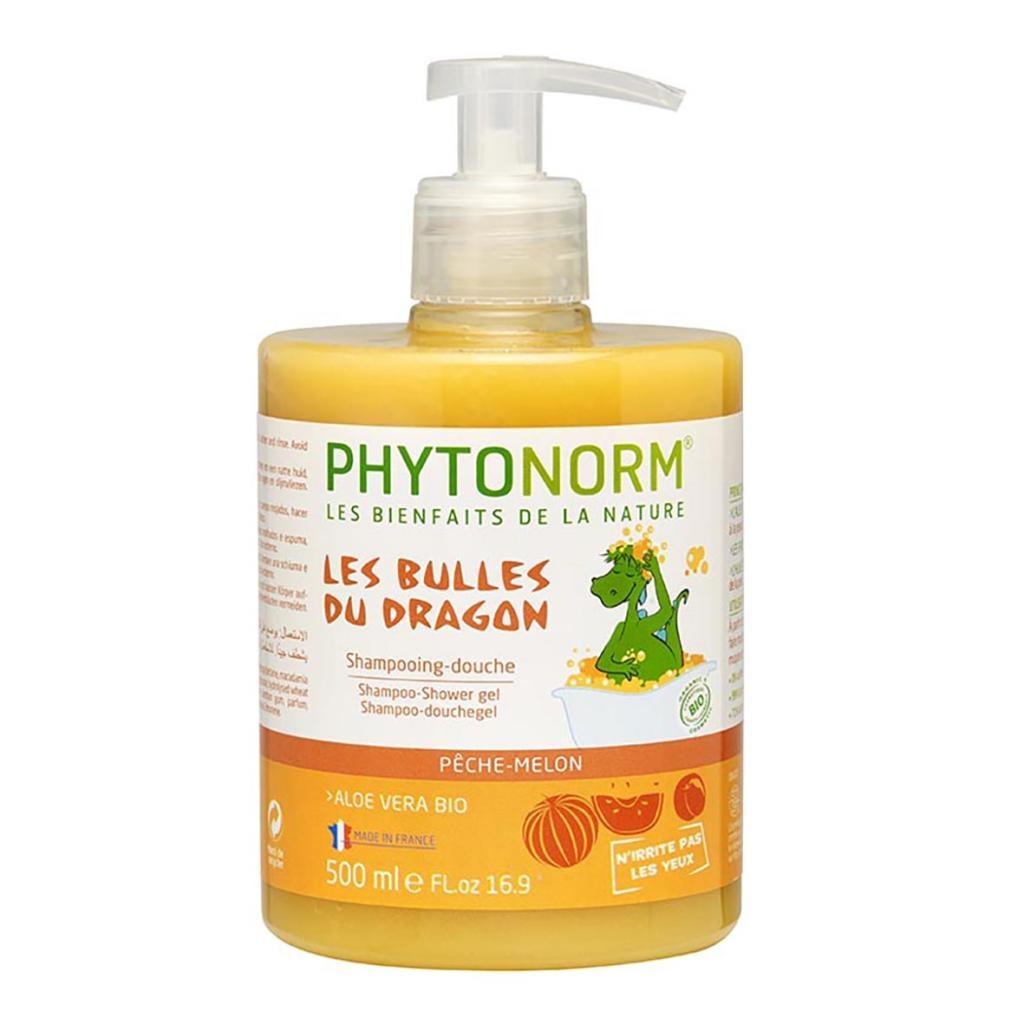 Shampooing-Douche senteur Pêche-Melon 500ml Bio - Phytonorm