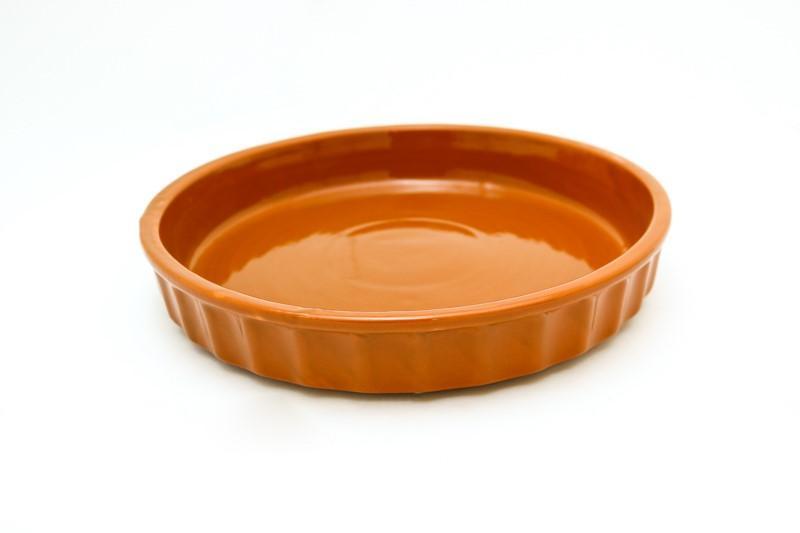 Plat tarte 28 cm en céramique
