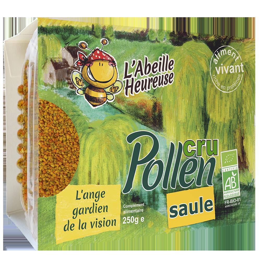 Pollen Cru Saule Bio 250g