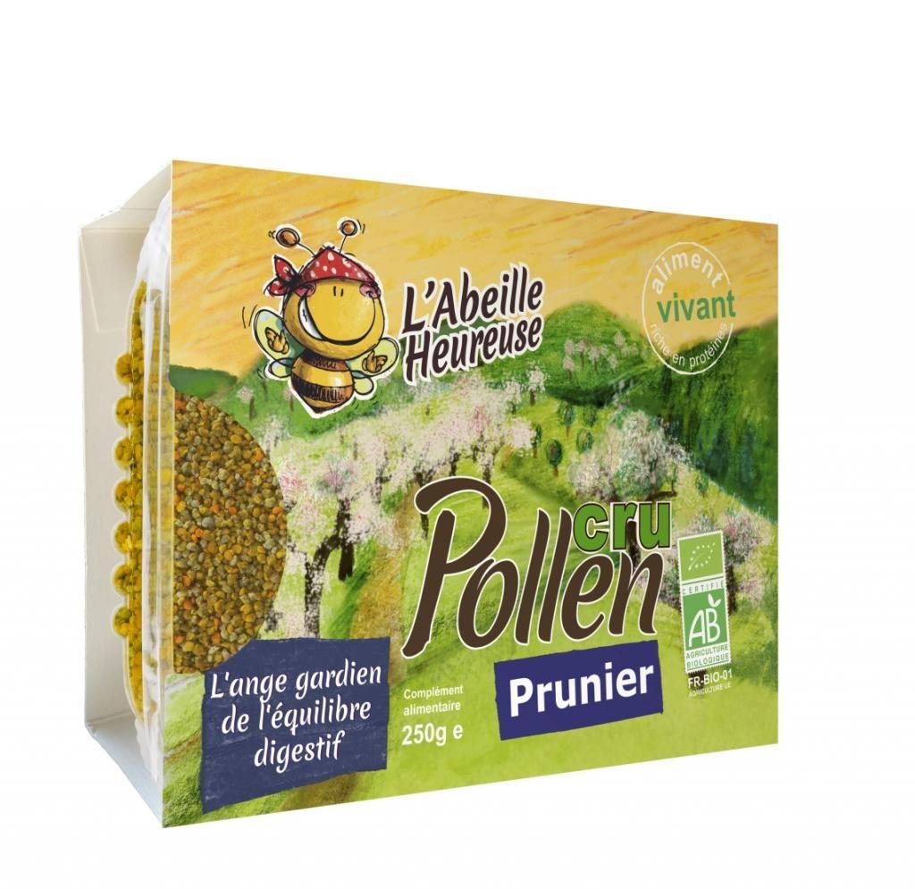 Pollen cru Prunier Bio 250g
