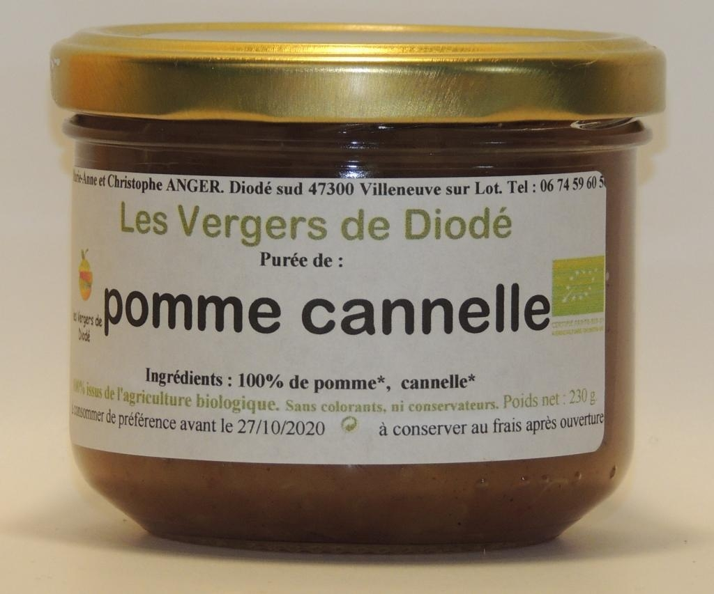 100% pomme cannelle