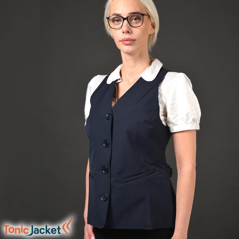 Gilet TONIC JACKET Femme - Bleu marine - L