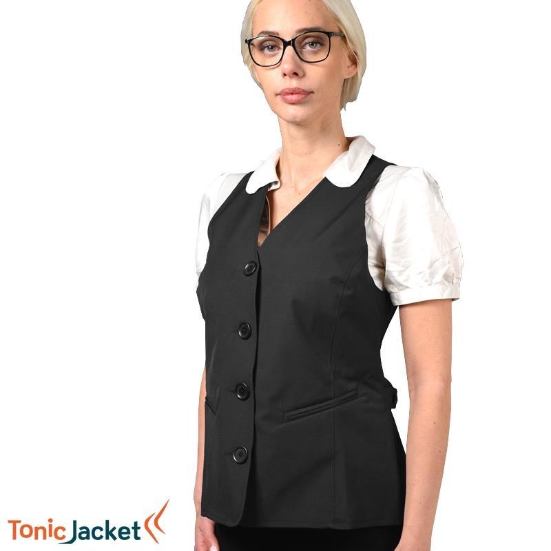Gilet TONIC JACKET Femme - Noir - XL