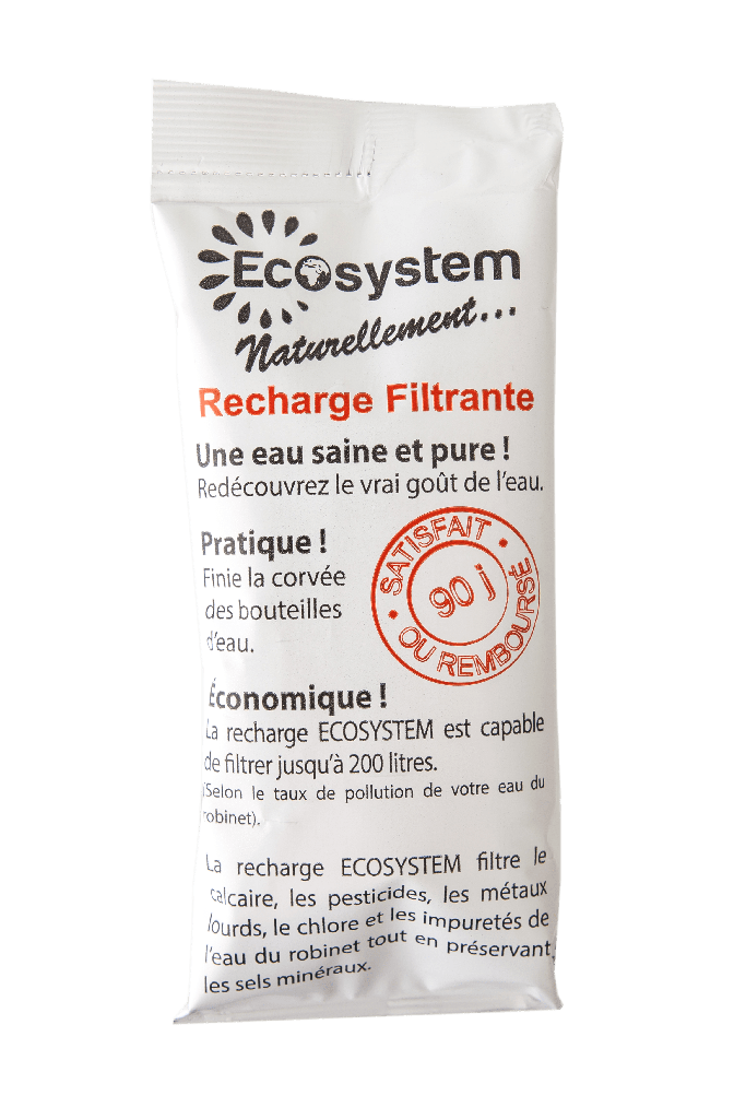 Recharge filtrante 150 litres  1 mois