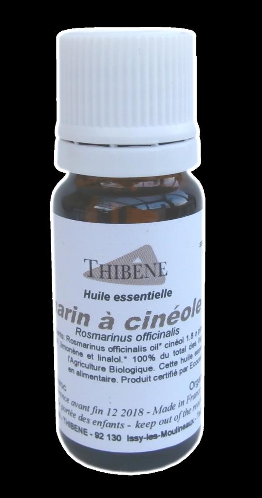 Huile Essentielle de Romarin à Cinéole Bio 10 ml