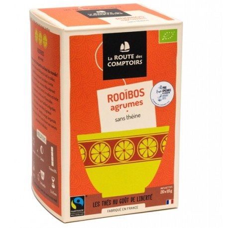 Rooibos The Rouge Agrumes Sevellia