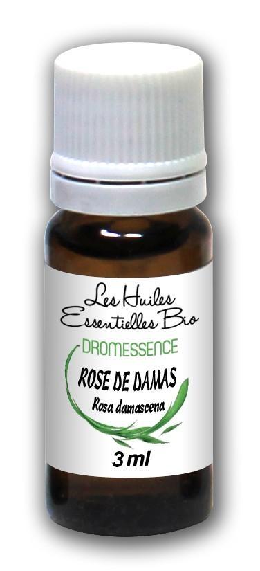 Huile essentielle Rose de damas (Absolue) 3 ml DROMESSENCE