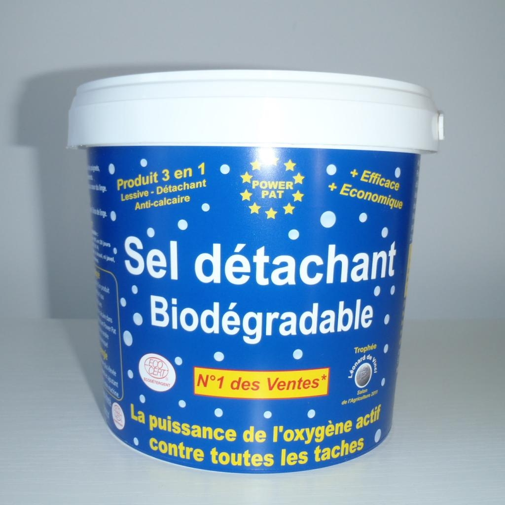 Sel detachant biodegradable – 1kg