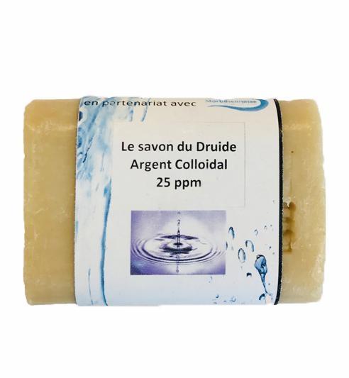 Le savon du druide à l'argent colloïdal 25 ppm. 100G