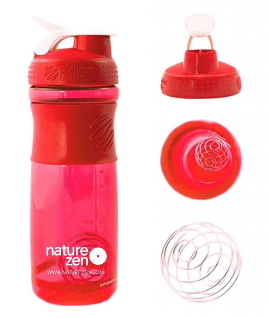 Nature Zen Shaker rouge