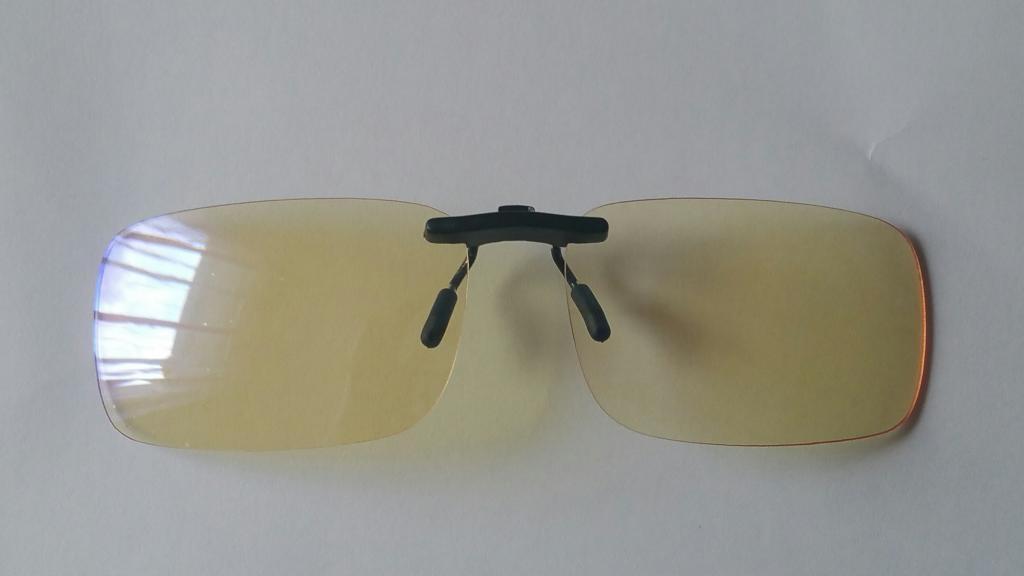 Clips lunettes antilumieres bleues