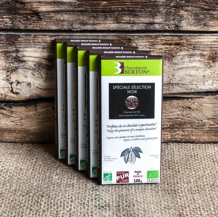 Grand Cru Spéciale Sélection Chocolat Noir Bio 70%