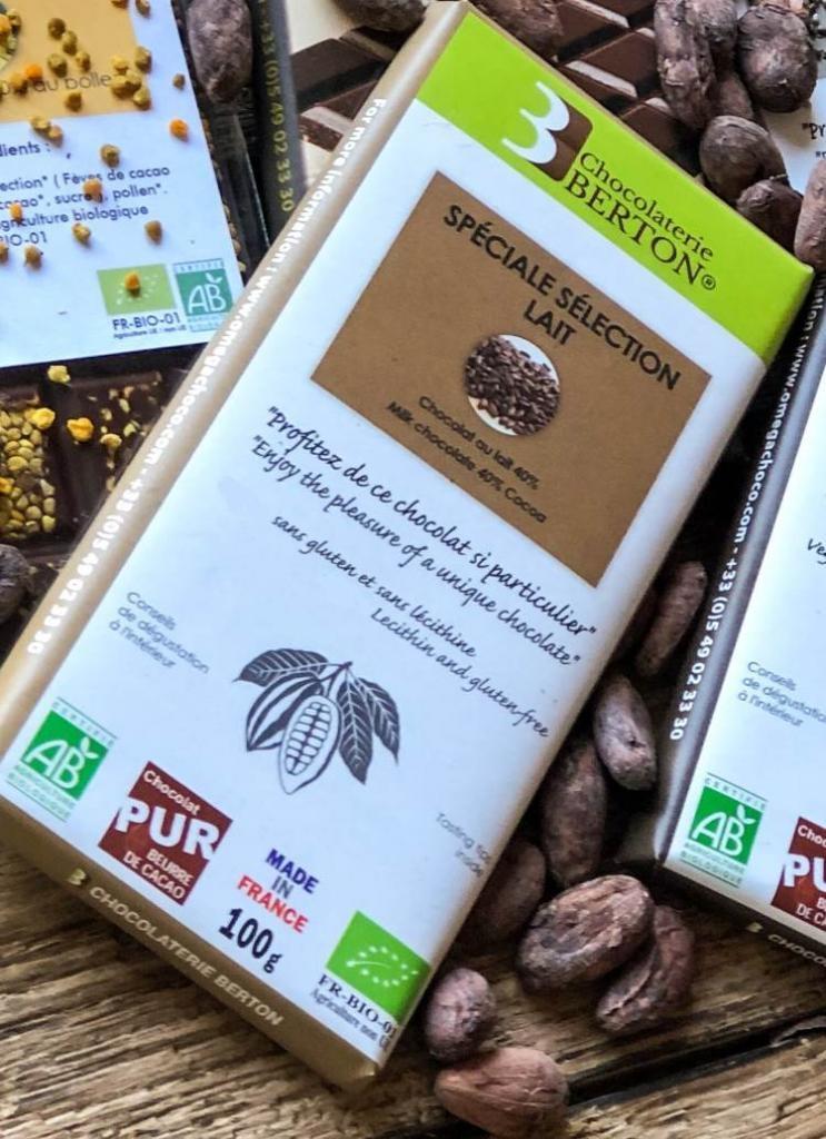 Grand Cru Spéciale Sélection Chocolat au Lait Bio