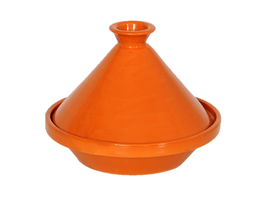 Tajine marocain 20 cm avec couvercle en céramique