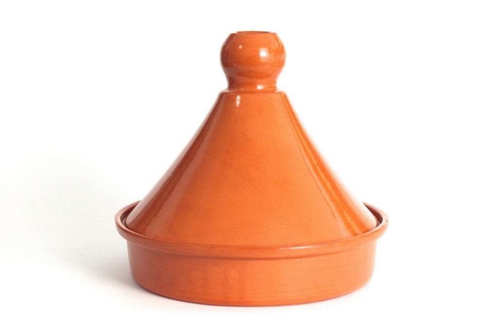 Tajine marocain 30 cm avec couvercle en céramique
