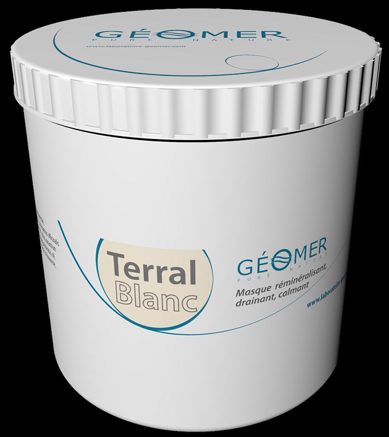 Terral Blanc - Pot 500 ml - Masque à l'argile