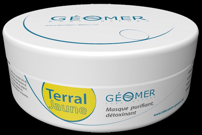 Terral Jaune - Pot 250 ml - Masque à l'argile