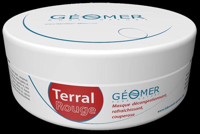 Terral Rouge - Pot 250 ml - Masque à l'argile