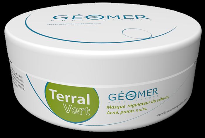 Terral Vert - Pot 250 ml - Masque à l'argile