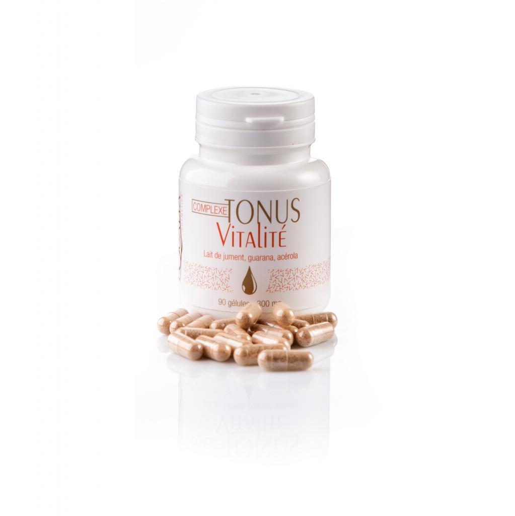Complexe tonus vitalité lait de jument - 90 gélules