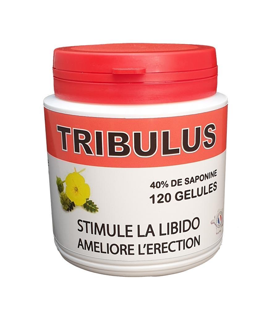 Trubullus Terrestris 120 gélules 40% de saponine