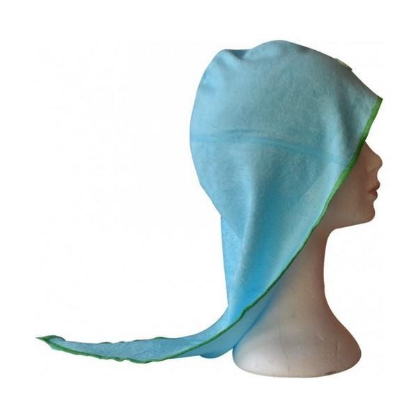 Turban sèche cheveux bambou