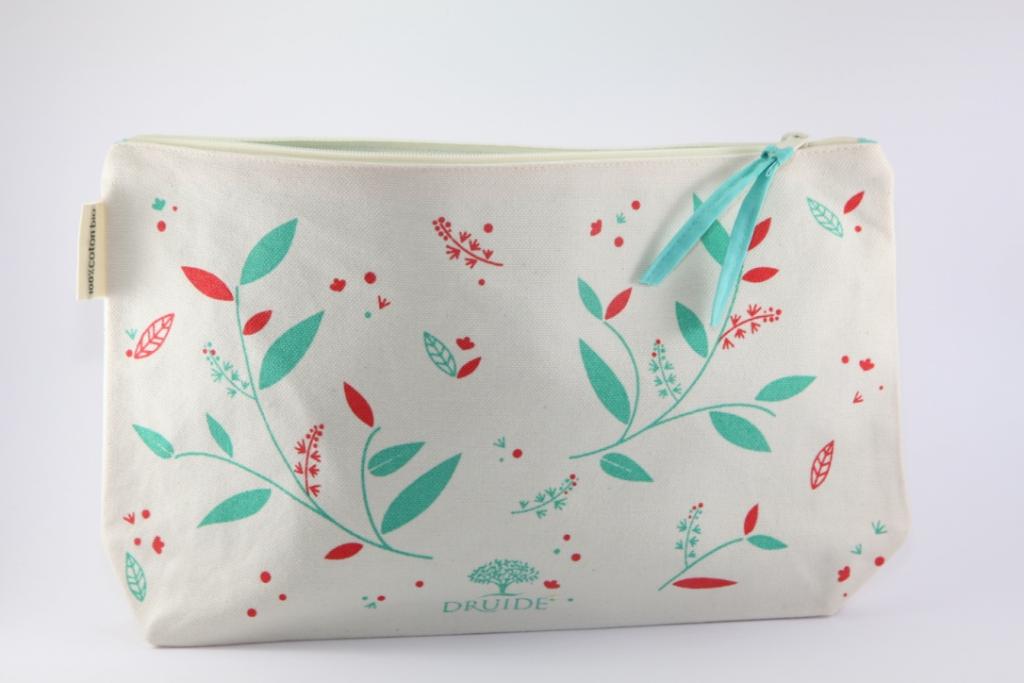 DRUIDE - Pochette - Trousse de toilette - Coton biologique