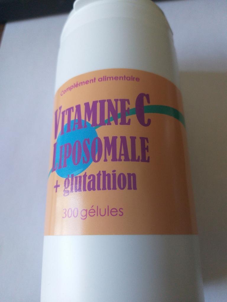 Vitamine C liposomale 3 mois  300 gélules  disponible le 15 Avril