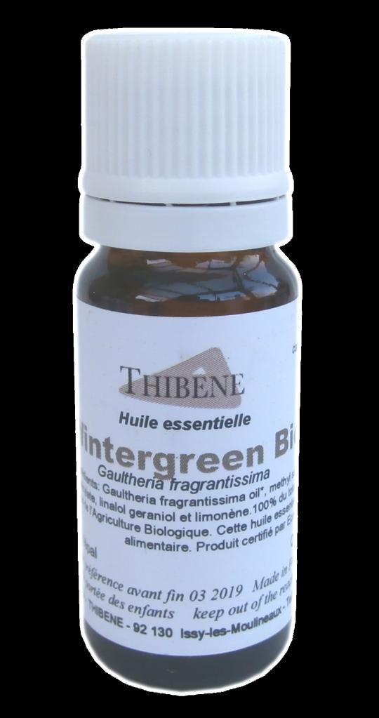 Huile Essentielle de Gaulthérie Wintergreen Bio 10ml