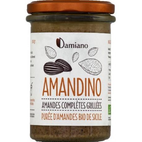 Amandino Purée d'Amandes Complètes Grillées - 750g - Damiano