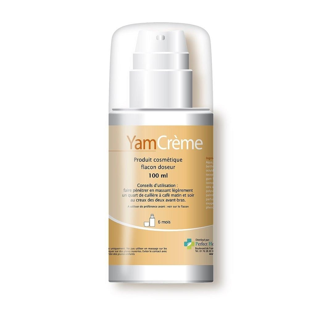 YamCrème - Crème à base de Yam - Flacon doseur de 100 ml