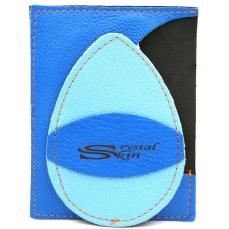 Gant d'exfoliation et d'épilation Bleu Egyptien/bleu Maya