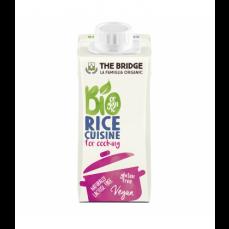 THE BRIDGE Crème de riz cuisine bio & sans gluten