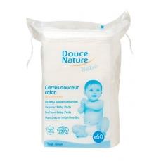 DOUCE NATURE - Carrés Douceur coton Bio x60-Douce Nature Bébé