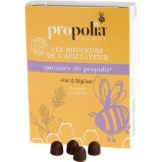 Gommes de Propolis Miel et Réglisse - 45g - Propolia