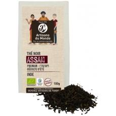 Thé noir d'Assam bio et équitable en vrac