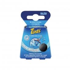 Balle Effervescente Bain Magique Bleu - Colore l'eau du bain - 55g