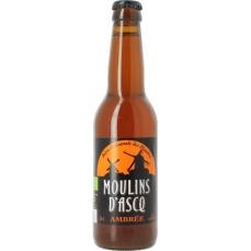 Bière Ambrée - 33cl - Moulins d'Ascq