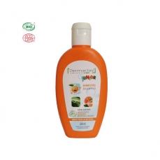 DERMACLAY - Shampoing doux bio Enfant Pêche Abricot 200ml