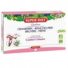 Quatuor Cranberry Reine des Prés Bruyere Frene Bio - Ampoules -SuperDiet