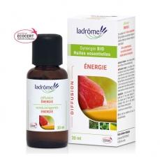 LADRÔME - Energie - Mélange huiles essentielles pour diffuseur bio 30ml