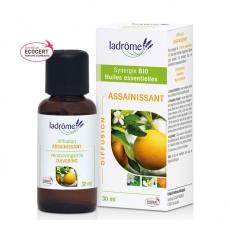 LADRÔME - Assainissant - Mélange huiles essentielles pour diffuseur bio 30ml