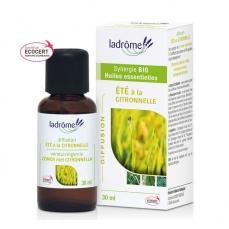 LADRÔME - Eté à la citronnelle - Mélange huiles essentielles pour diffuseur bio 30ml