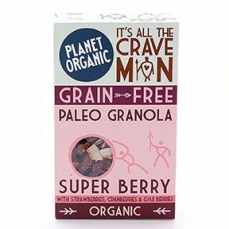 Paleogranola Super Berry 350g Bio - Planet Organic
