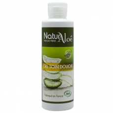 NATURALOE - Gel douche soin bio à l'Aloe vera 200ml