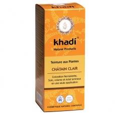 KHADI - Châtain clair - Coloration végétale naturelle 100g