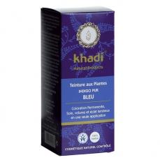 KHADI - Indigo pur Bleu - Coloration végétale naturelle 100g