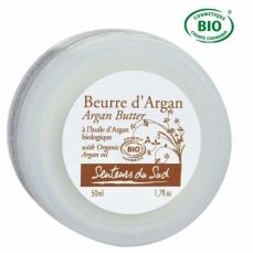 Beurre à l'huile d'argan Bio -50ml-Senteurs du Sud