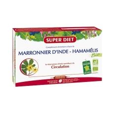 Marronnier d'Inde / Hamamélis Bio - 20 Ampoules de 15ml - SuperDiet