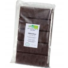 Bloc pâte de cacao Bio 100% de 900 gr